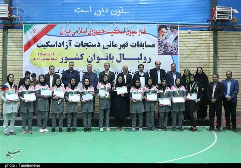 کرمان  بانوان زرندی مقام سومی مسابقات رولبال کشوری را کسب کردند