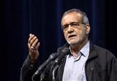 پزشکیان: پروژه راهآهن میانه ـ تبریز 20 ساله شد؛ دولت برای اتمام طرح کمک کند