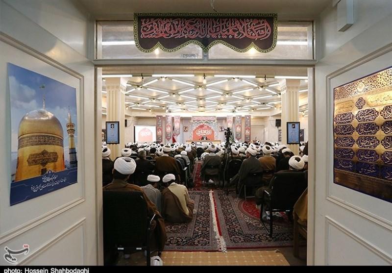 آئین تکریم مبلغین جهادی اربعین حسینی در قم به روایت تصویر