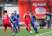 """""""استقلال تهران"""" با 5 گل در مقابل """"سپیدرود رشت"""" به برتری رسید"""