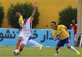 جام حذفی فوتبال| دیدار صنعت نفت - سایپا به وقت اضافه کشیده شد