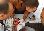 برگزاری سیوهفتمین راهپیمایی جمعه بازگشت در هوای طوفانی غزه