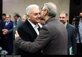 دیدار رؤسای مجلس ترکیه و افغانستان با علی لاریجانی