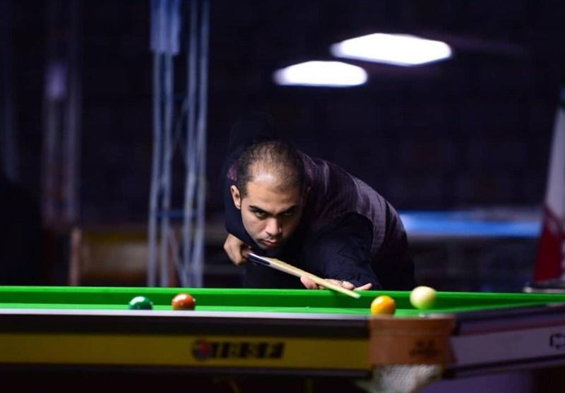 Iran's Heydarinejhad Wins Silver at Asian Snooker Tour