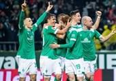 فوتبال جهان  وردربرمن در خانه به پیروزی دست یافت