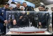 افتتاح نمایشگاه دستاوردهای نیروی دریایی ارتش + عکس