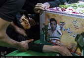 یزد | تشییع پیکر شهید مدافع وطن سروان ایرج صفاری به روایت تصویر