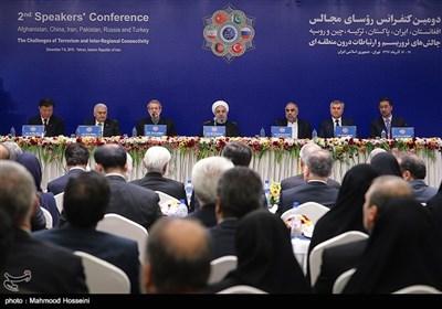 6 Ülke Meclis Başkanı Tahran'da Toplandı