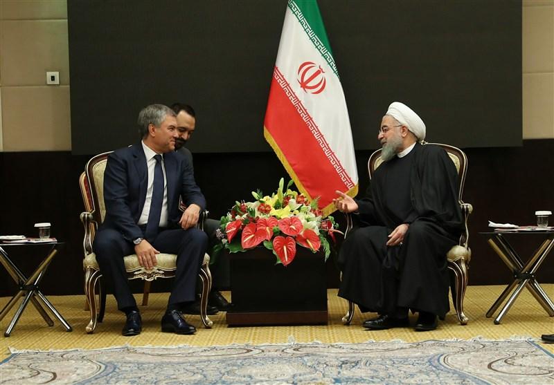 روحانی : یجب استمرار التعاون الاقلیمی الایرانی - الروسی حتى تحقیق النتائج المنشودة