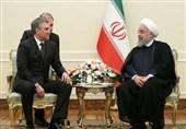 دیدار رئیس دومای روسیه با حسن روحانی در تهران