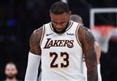 تذکر جدی NBA به لبران جیمز و لیکرز