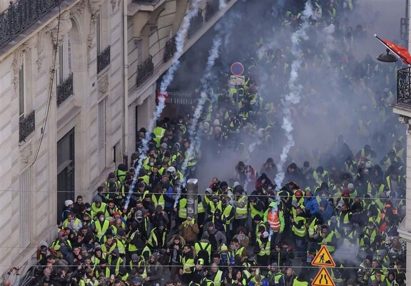 وزارت کشور فرانسه: 1723 تظاهرات کننده را بازداشت کردیم