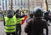 50 نفر در اعتراضات جلیقه زردها در بروکسل بازداشت شدند
