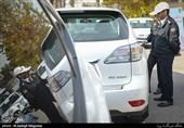 توقیف 450 خودروی مزاحم تهرانیها