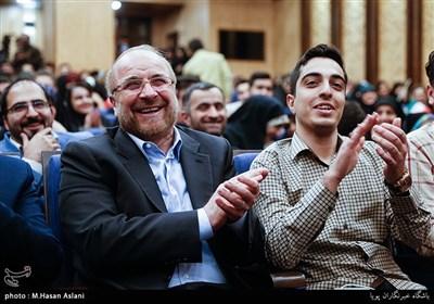 محمدباقر قالیباف در جمع دانشجویان دانشکده حقوق دانشگاه تهران