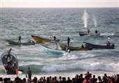 إصابات جراء اعتداء الاحتلال على المسیر البحری التاسع عشر شمال غزة