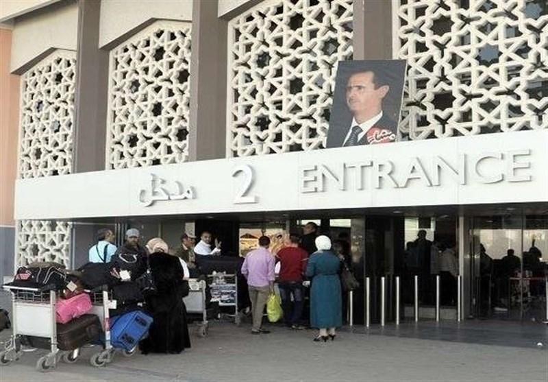 مصادر فی مطار دمشق: لا یوجد عدوان على المطار والحرکة فیه طبیعیة