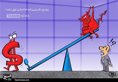 کاریکاتور/ گره کور تنظیم بازار!!!