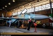 گزارش ویدئویی تسنیم از اورهال جنگنده میگ 29