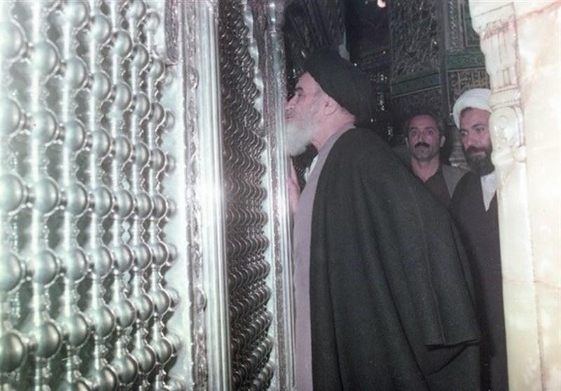 ماجرای حضور مخفیانه امام خمینی(ره) در حرم حضرت عبدالعظیم +فیلم