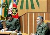 برگزاری نشست هم اندیشی فرمانده کل ارتش با دانشجویان دافوس آجا