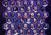 فوتبال جهان|کاندیداهای تیم منتخب سال اروپا معرفی شدند