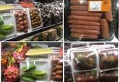 گزارشی از فقر و غنا در تهران / غذای لاکچری نشینها از «ژامبون گوزن» تا «سیب چوبی و موز قرمز» +عکس