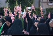 گرگان  گلباران قدمگاه امام حسن عسگری(ع) در ایران+ تصاویر