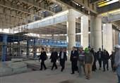 وزیر راه و شهرسازی از ترمینال بینالمللی فرودگاه شیراز بازدید کرد