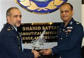 بازدید هیئت نظامی پاکستان از دانشگاه هوایی شهید ستاری