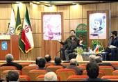 """آئین معرفی کتاب """"سرباز کوچک امام"""" در زنجان+ تصاویر"""