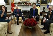 مشاجره شدید ترامپ و سران دموکرات در کاخ سفید+فیلم و عکس