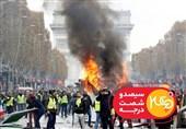جلیقهزردهای فرانسه به تلویزیون ایران رسیدند