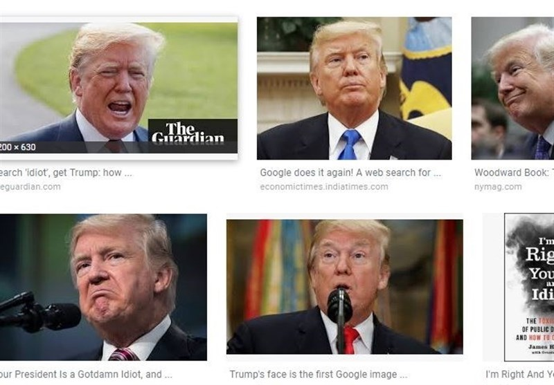 Trump Picture Is What Most People Want When They Search for 'Idiot' (+Video)