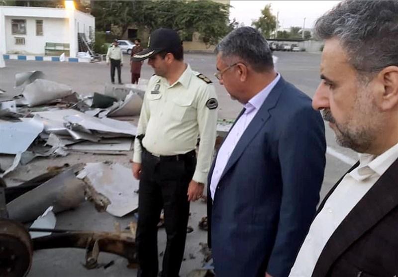بازدید رئیس کمسیون امنیت ملی مجلس از محل حادثه تروریستی چابهار+ عکس