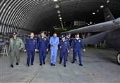 بازدید نظامیان پاکستانی از پایگاه نیروی هوایی ارتش در اصفهان