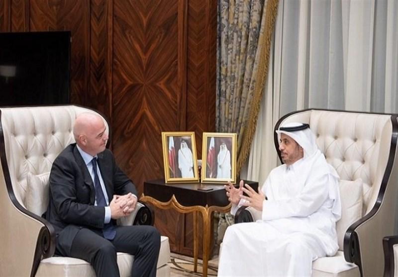 نخستوزیر قطر: مهیای میزبانی از بزرگترین رویداد ورزشی در منطقه هستیم