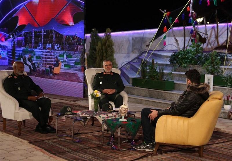 فرمانده قرارگاه قدس در تلویزیون: بازارچههای مرزی میتواند مشکلات مردم سیستان و بلوچستان را حل کند + عکس