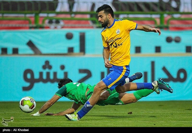 لیگ برتر فوتبال| فرار پارس جنوبی از شکست مقابل نفت مسجدسلیمان
