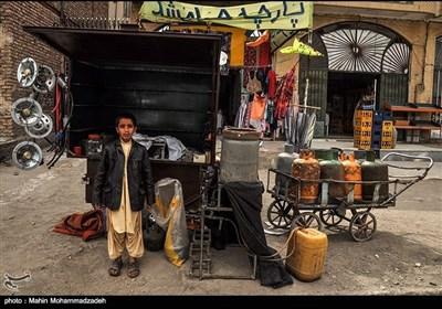 زاہدان میں گیس کی فروخت