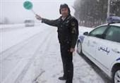 پلیس قزوین آماده خدماتدهی در شرایط جوی زمستانی است