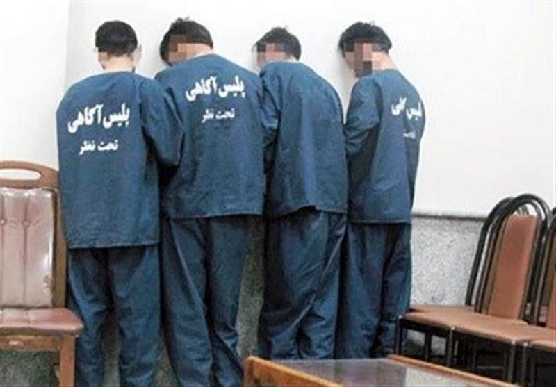 Image result for دستگیری 4 سارق