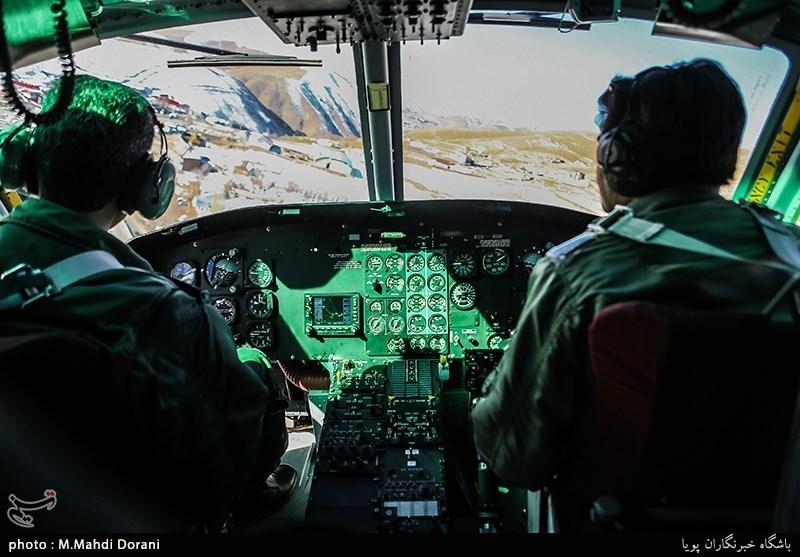 اربعین 98| استفاده از پهپادها و بالگردهای هواناجا برای رصد مرزهای چهارگانه