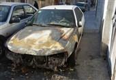 مرد شیشهای پس از آتش زدن چندین خودرو به دام افتاد