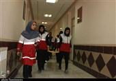 مانور زلزله در خوابگاههای دانشجویی استان گلستان برگزار شد+تصاویر