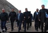 بازدید استاندار آذربایجان شرقی از روند احداث بزرگراه اهر-تبریز
