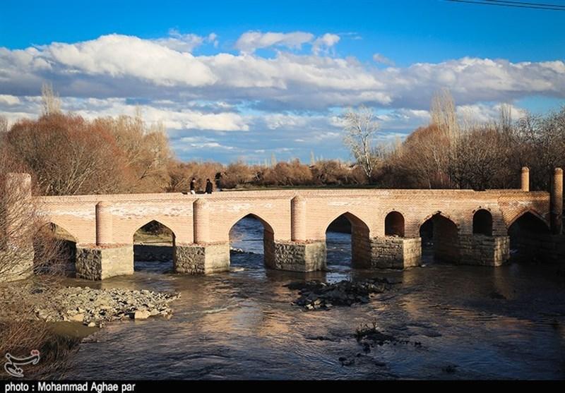 """پل تاریخی """"باراندوز"""" ارومیه پس از اتمام مرمت و نوسازی به روایت تصاویر"""
