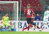فوتبال جهان  ولفسبورگ در خانه نورنبرگ پیروز شد