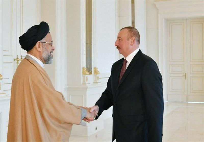 Iran's Intelligence Minister Meets with Azeri Leader