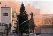 الاحتلال الإسرائیلی یفجر منزل عائلة أبو حمید فی مخیم الأمعری برام الله